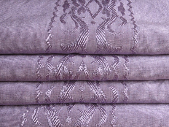 Vintage Coverlet or Bedspread, Dolly Madison Lavender Silky Rayon, Twin