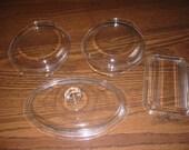 Vintage Pyrex Casserole Lids -Choose One- : 682-C 12, 682-C 4, 502-C, or 16