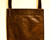 Lovely Distressed Leather Passport Bag