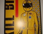 Kill Bill movie poster print
