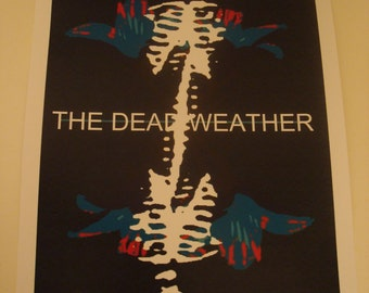 The Dead Weather band poster print