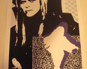 Labyrinth movie poster print