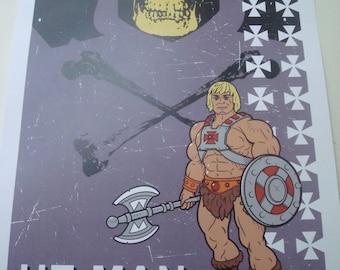 He-man poster print