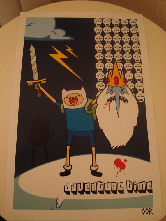 Adventure Time poster print
