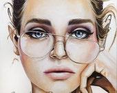 Custom Original Portrait Painting