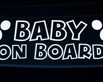 Baby on Board (Version 2) - Vinyl Decal