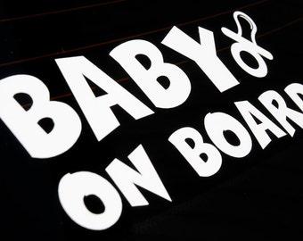 Baby on Board (Version 1) - Vinyl Decal