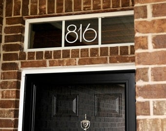 Address Numbers (Small) - Vinyl Decal