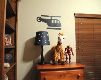 Toy Helicopter - Wall Decal