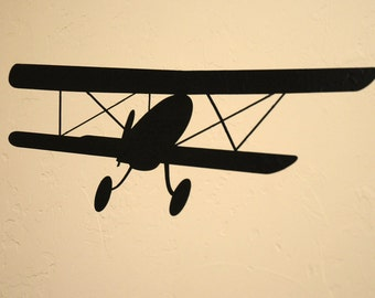 Biplane - Wall Decal