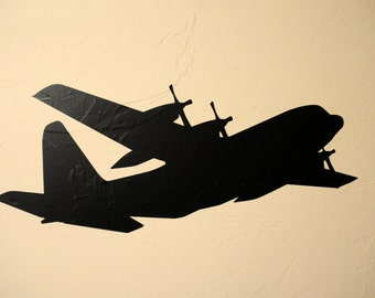 C130 Airplane - Wall Decal