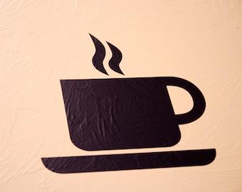 Coffee Mug - Wall Decal