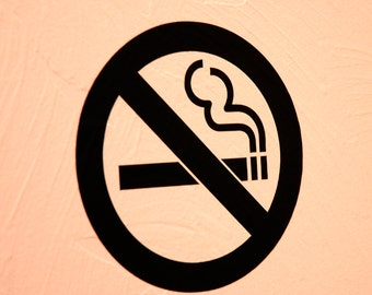 No Smoking - Wall Decal
