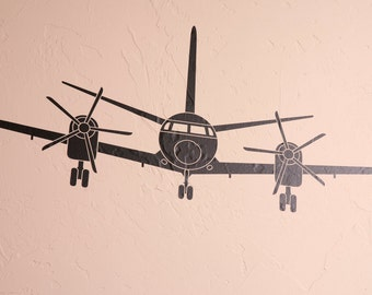 Turboprop Airplane - Wall Decal