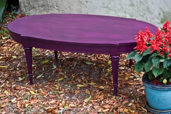 Purple w black coffee table for Purple coffee table