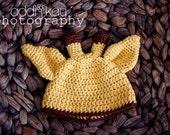 Giraffe Newborn Hat