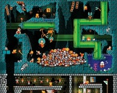 The Pit - Super Mario Bros. 12x18 Print