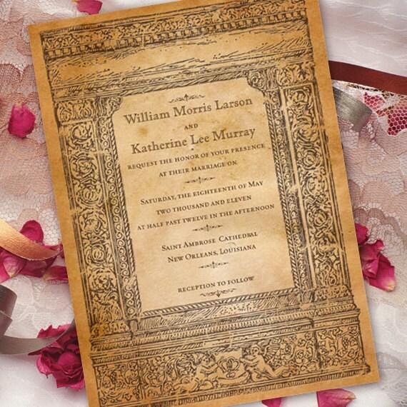 wedding invitations, bridal shower invitations, wedding invitations with cherubs, recital programs, graduation announcement invitations