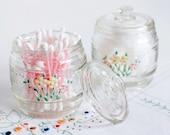 Vintage Nursery Jar Set, Flowers