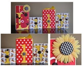 Custom Decor Blocks- Minnie/Mickey Mouse