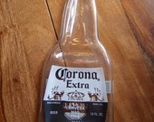 CORONA Fused Flat Beer Bottle for Spoon Rest or Cheese Tray