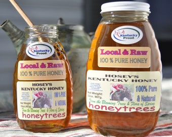 Local Raw Honey 32oz