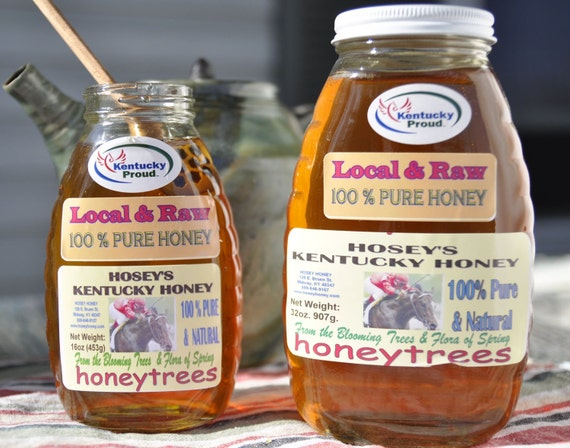 Local Raw Honey 32oz