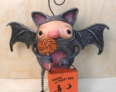 Batwick - An Original Ornament from the Gumples Trick-or-Treat Collection