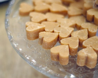Scottish Tablet Hearts  3 for 1 Pound