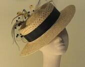 Pietermaritzburg - Woman's Couture Boater Hat