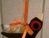 Recycled Fabric Bird
