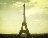 Clearance Spring Cleaning SALE, Free Shipping: Paris Panorama Eiffel Tower, La Tour Eiffel