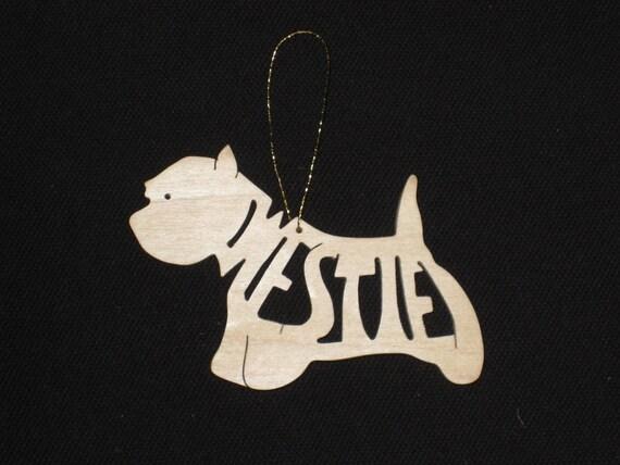 Westie Dog Ornament