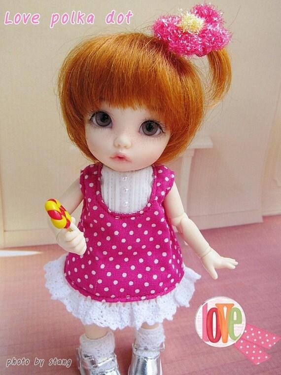 Love polka dot lati yellow outfit
