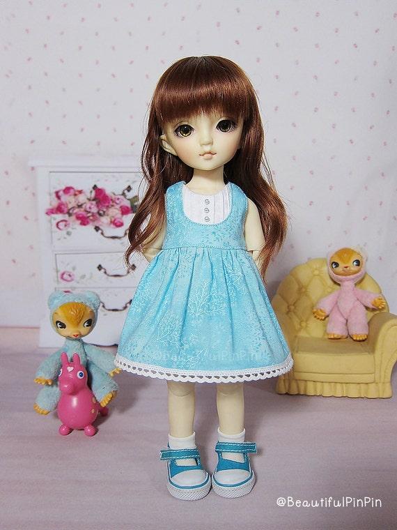 Yosd : blue summer dress