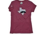 Texas State Shirt w Mustache