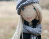 Frozen Angel. handmade doll. example