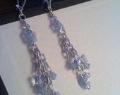Butterfly Swarovski Crystal Dangle Earrings