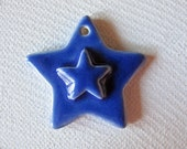 Blue Star Pendant