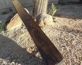 """60"""" rustic beam mantel"""
