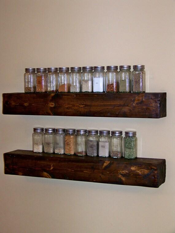 Floating ledge shelf