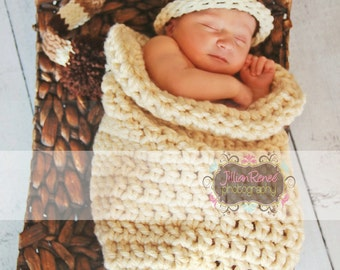 Simple Infant Cocoon - Photography Prop