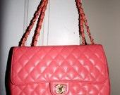 Chanel Coral 2.55 Purse