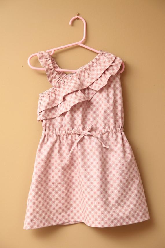 Girl's Dress Pattern PDF  The Big Girl Gem Dress Sizes 6-10