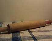 1960s Wooden Rolling Pin