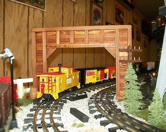 Model Railroad O Gauge Timber Frame DOUBLE Tunnel Portals - Set of 2