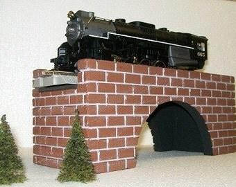 Arch Bridge for Weddings, O Gauge Model Railroad, Fairy Gardens, Dollhouse Yards, or scenery landscaping