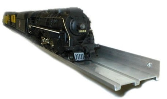 DISPLAY SHELF / 5 pack Aluminum / O Gauge Model Railroad Trains / Wall Decorations / Matchbox cars / Pictures / Certificates