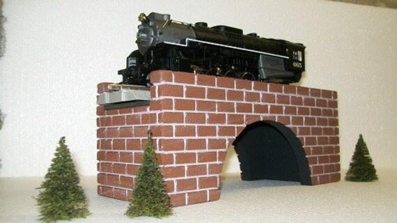 Arch Bridge for Fairy Gardens, Model Railroads, Dollhouse Yards, or scenery landscaping / O Gauge