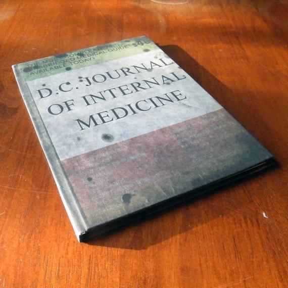D.C. Journal of Internal Medicine A5 Notebook